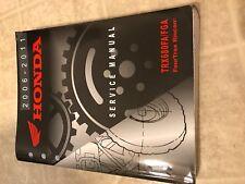 2006 - 2011 TRX680FA/FGA FOURTRAX TRX 680 FA Honda Original Shop Manual Oem