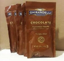 Lot Of 20 Ghirardelli flavored FRAPPE Hot Cocoa Chocolate 1.58 Oz Envelopes
