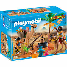 Playmobil tomb raiders 'camp-histoire 5387