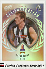 2013 Select AFL Prime All Australia Team Card AA9 Dayne Beams (Collingwood)