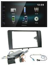 Kenwood AUX Bluetooth USB MP3 2DIN Autoradio für Audi A3 8P 06-12 Bose Aktivsyst