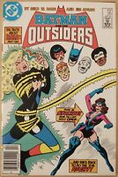 Batman and the Outsiders 20 Mark Jewelers Variant VF+ Newsstand 1985 DC Comics