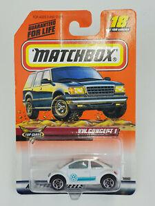 Auto Mattel Matchbox 36562-0910 - Top Class - VW Concept 1