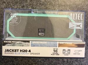 Altec Lansing Jacket H20 4 Rugged Bluetooth Speaker - Blue WATERPROOF/ DIRTPROOF