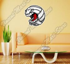 "Volleyball Beach Ball Angry Face Funny Wall Sticker Room Interior Decor 22""X25"""