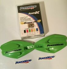 Powermadd 14283 PowerX Motorcycle Handlebar Guards Handguards Fit Kawasaki Green