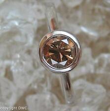 Ring mit Brillant Solitär Diamant in aus 18 Kt. 750 er Gold Grösse 59 RAR!