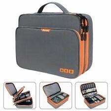 Waterproof Electronic Bag Lightweight Organizer Travel Storage 3 Layers Handbag