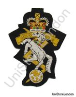 Badge Royal Electrical and Mechanical Engineers Blazer Badge on Black R658