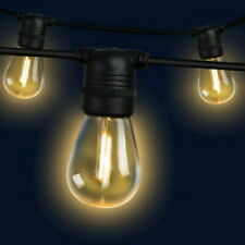 Jingle Jollys LIGHT-B-S14-20-WW 23m LED Festoon String Lights