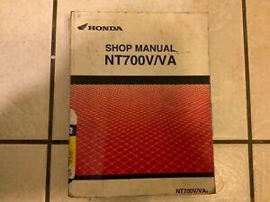 Honda NT700V VA 6 NT700 SHOP MANUAL GENUINE