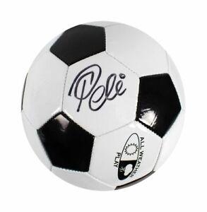 Pelé Auto Brazil Legend Signed Retro Football