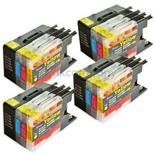 16 Druckerpatronen Brother für den Drucker MFC-J6710DW LC 1280 XXL NEU inkcompan