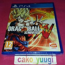 DRAGON BALL XENOVERSE SONY PS4 NEUF SOUS BLISTER VERSION FRANCAISE