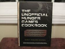 The UNOFFICIAL Hunger Games Cookbook hardcover Brand New by Emily Baines