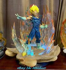 Dragon Ball Z Vegeta estatua resina modelo GK estatuilla colecciones de iluminación 1/6