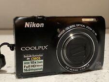 Nikon COOLPIX S6300 16 MP Digital Camera, 10x Optical Zoom, Full HD