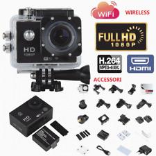 TELECAMERA  12MP FULL HD WIFI 1080P SPORT CAMERA GO PRO SUBAQUEA