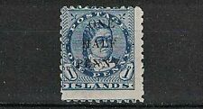 COOK ISLANDS:1899 SC#25 Mint Queen Makea Takau surcharged