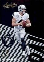 2018 Panini Absolute Base #77 Derek Carr Oakland Raiders