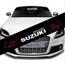Reflective Front Windshield Banner Decal Car Sticker for Suzuki Auto Exterio DIY