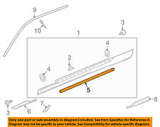 Chevrolet GM OEM 10-15 Camaro Exterior-Lower Weatherstrip Seal Left 20969769