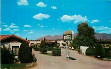 Dexter Photocraft 1950s La Flores Motel Tucson Arizona roadside Postcard 8023