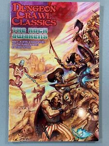 DCC RPG #84.1 The Rock Awakens *NEW OUT OF PRINT* Digest Purple Planet Adventure