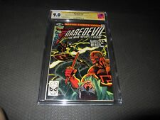 Daredevil 168 CGC 9.0 S.S. Triple signed F. Miller, O'Neil, Shooter 1st Elektra