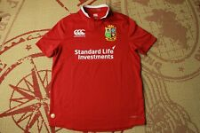 British And Irish Lions Rugby Jersey Shirt Trikot Maglia Canterbury Size M