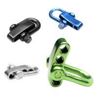 Adjustable Steel U-Shaped Shackle Buckle for DIY   Bracelet Survival Tool