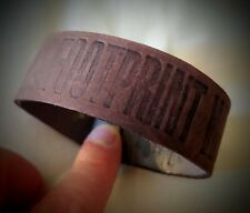 ARMLET leather bracciale vintage 90's TIMBERLAND new! RARE