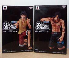Banpresto One Piece Dramatic Showcase 5th Ace Luffy Marine Ford DXF figure Japan