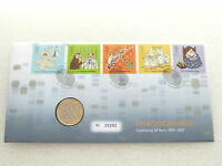 2003 British DNA Double Helix 50th Anniversary £2 Two Pound Coin First Day Cover