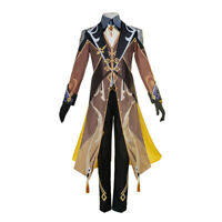 Genshin Impact Zhong Li Full Set Outfits Cosplay Costume Halloween[XS-XL]