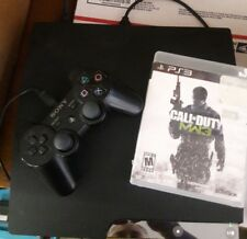 Sony Playstation 3 PS3 CECH-2501A 160gb Console, MW3 Game, controller bundle