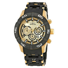 Invicta Sea Spider Chronograph Gold Dial Mens Watch 21819