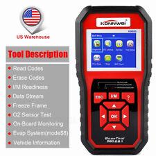 OBD2 Auto Code Reader EVAP System Test Data Check Engine Auto Diagnostic Tool US