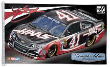 Kurt Busch NASCAR #41 Haas CNC Chevrolet Huge 3-by-5-foot FLAG