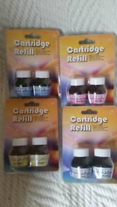 Printer inkjet refill kit (FULL SET - all 4 colours) Epson, Canon, HP, Lexmark