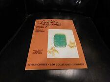 Lapidary Journal Gem Cutting Magazine : February 1968