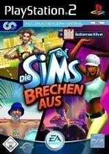 PS2 / Sony Playstation 2 Spiel - Die Sims brechen aus / Bustin Out mit OVP