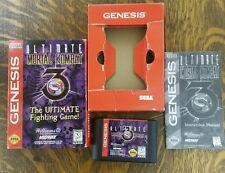 Ultimate Mortal Kombat 3 Sega Genesis Complete