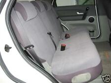 FRONT+MIDDLE+ REAR PLAIN BLACK VELOUR SEAT COVER FIT FORD TERRITORY 2004-2010,