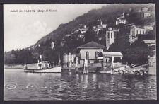 COMO BLEVIO 02 LAGO Cartolina viaggiata 1942