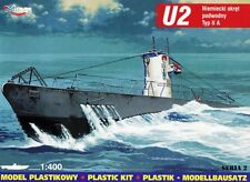 U-Boat/U-Boot U 2 (tipo II un submarino alemán) - WW II 1/400 Mirage