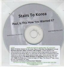 (BQ938) Stairs to Korea, Paul Is This How You Wanted It? - DJ CD