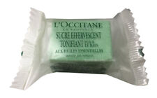 L'Occitane Effervescent Revitilizing Sugar Cube Bath Bomb 33g TRAVEL SIZE