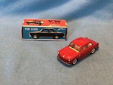 Vintage Diecast Tekno Red Volkswagen VW 1500 828 Mint!!! w/ Original Box!!!
