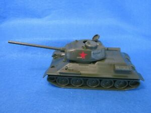Classic Toy Soldiers WWII Russian T-34/85 Tank 1:32, hard plastic